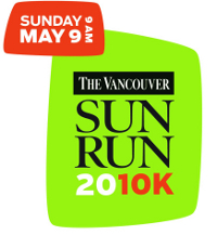 vancouver sun run 2009  photo