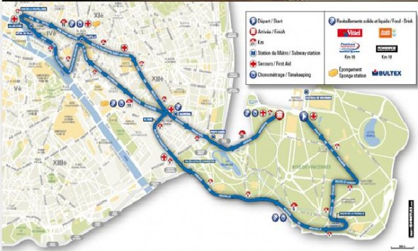 Paris_Half_marathon_Route_map