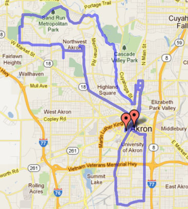 - Akron-marathon-course-map