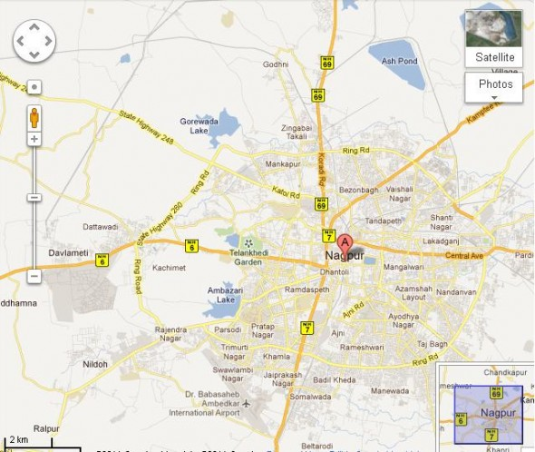 nagpur-international-marathon-map