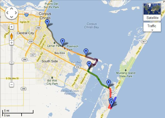 Beach To Bay Relay Marathon Course Map
