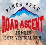 Pikes Peak Road Ascent