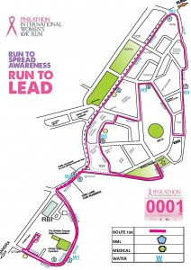 Mumbai Pinkathon International Women's 10K Course Map