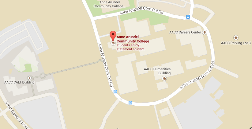 Aacc Main Campus Map.All About Location Amp Maps Anne Arundel Community College Www
