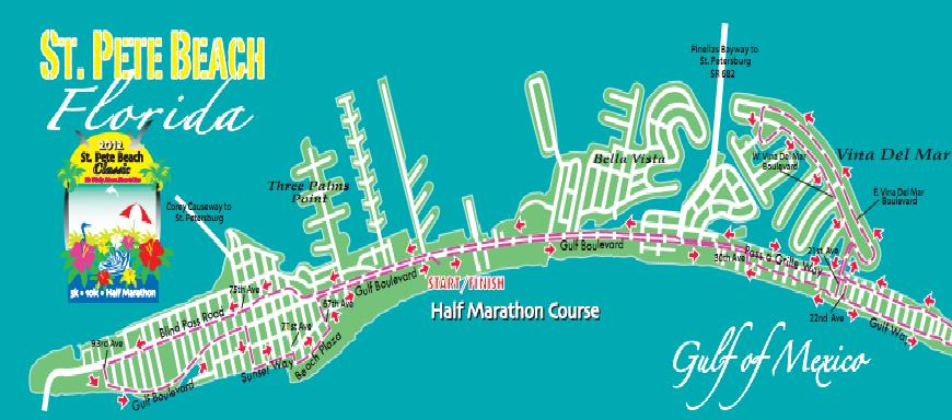 Course Route Map